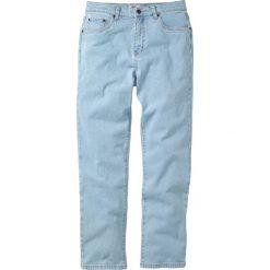 Dżinsy Classic Fit Straight bonprix jasnoniebieski. Niebieskie jeansy męskie relaxed fit bonprix. Za 89,99 zł.