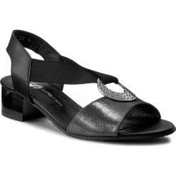 Rzymianki damskie: Sandały BUT-S - J433-AD2-0A0 Czarny/Grafit