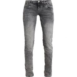 Betty & Co Jeansy Slim Fit dark grey denim. Szare jeansy damskie Betty & Co, z bawełny. Za 399,00 zł.