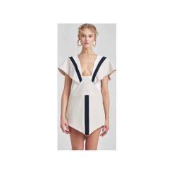 Sukienka Walentina. Białe sukienki Bosari, xs, z tiulu, z kwadratowym dekoltem, trapezowe. Za 2100,00 zł.