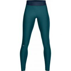 Under Armour Spodnie damskie HeatGear Armour Legging turkusowe r. XS (1309631-716). Niebieskie spodnie sportowe damskie marki Under Armour, xs. Za 121,09 zł.