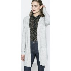 Vero Moda - Sweter. Szare kardigany damskie Vero Moda, l, z dzianiny. W wyprzedaży za 89,90 zł.