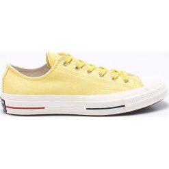 Converse - Tenisówki. Białe tenisówki męskie Converse, z materiału, na sznurówki. W wyprzedaży za 249,90 zł.