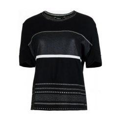 Desigual T-Shirt Damski Magda M Czarny. Czarne t-shirty damskie marki Desigual, m. W wyprzedaży za 209,00 zł.