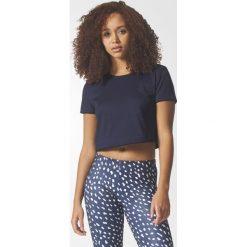 Koszulka adidas Slim Crop (BR9397). Czarne bluzki damskie Adidas, z krótkim rękawem. Za 63,99 zł.