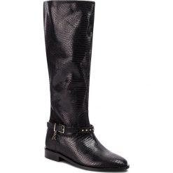 Oficerki PATRIZIA PEPE - 2V8139/A4H1-K103 Nero. Czarne buty zimowe damskie marki Patrizia Pepe, ze skóry. W wyprzedaży za 1569,00 zł.