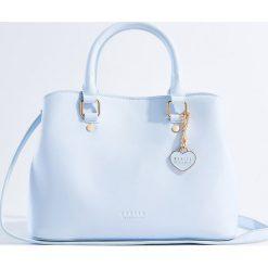 Torebki klasyczne damskie: Torebka typu city bag - Niebieski