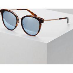 Okulary przeciwsłoneczne damskie aviatory: McQ Alexander McQueen Okulary przeciwsłoneczne havana/goldcoloured/lightblue