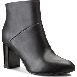 Botki NEŚCIOR - 50-D Czarny. Czarne buty zimowe damskie Neścior, ze skóry. W wyprzedaży za 259,00 zł.
