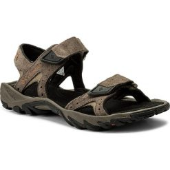 Sandały męskie skórzane: Sandały COLUMBIA – Santiam 2 Strap BM4624  Mud/Heatwave 255