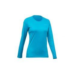 Koszulka turystyczna z długim rękawem MH100 damska. Czarne t-shirty damskie marki Mohito, l. Za 29,99 zł.