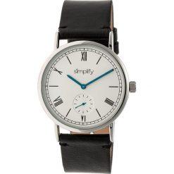 """Zegarki męskie: Zegarek kwarcowy """"the 5100"""" w kolorze czarno-srebrno-białym"""
