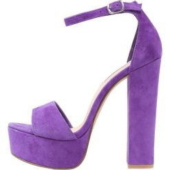 Sandały damskie: Steve Madden GONZO Sandały na obcasie purple