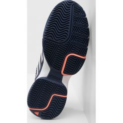 Adidas Performance BARRICADE CLUB Obuwie do tenisa Outdoor nobind/ftwwht/chacor. Brązowe buty sportowe damskie marki adidas Performance, z gumy. Za 379,00 zł.