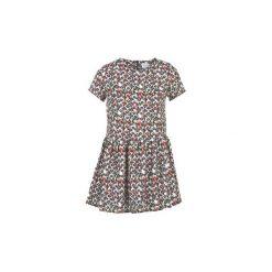 Sukienki krótkie Compania Fantastica  PUCAR. Szare sukienki mini marki Compañía fantástica, l, z krótkim rękawem. Za 167,30 zł.