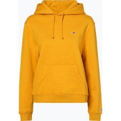Tommy Jeans - Damska bluza nierozpinana, żółty. Żółte bluzy sportowe damskie Tommy Jeans, l, z jeansu. Za 399,95 zł.