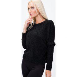 Sweter z szenili czarny 1535. Czarne swetry klasyczne damskie Fasardi. Za 39,00 zł.