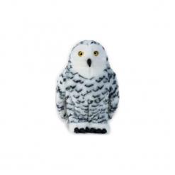 Maskotka DANTE National Geographic Sowa śnieżna. Szare przytulanki i maskotki DANTE, z materiału. Za 76,90 zł.