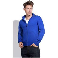 William De Faye Sweter Męski Xl Niebieski. Niebieskie golfy męskie marki Oakley, na lato, z bawełny, eleganckie. Za 259,00 zł.