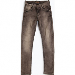 Blue Effect - Jeansy chłopięce – skinny fit, szary. Niebieskie chinosy chłopięce Blue Effect, z jeansu. Za 179,95 zł.