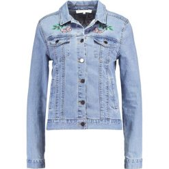 Bomberki damskie: Endless Rose EMBROIDERED PENELIA Kurtka jeansowa denim combo