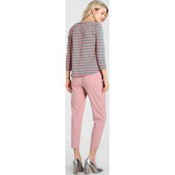Bluzki asymetryczne: Rich & Royal HEAVY STRIPE Bluzka z długim rękawem azalea pink