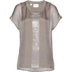 Odzież damska: Tunika z cekinami bonprix brunatny