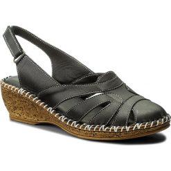 Rzymianki damskie: Sandały LANQIER – 40C1431 Black