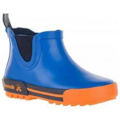 Kamik Kalosze Rainplaylo Blue-Bleu 30. Niebieskie kalosze chłopięce marki Kamik. W wyprzedaży za 99,00 zł.