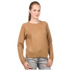 Swetry damskie: Brave Soul Sweter Damski Allenb Xs Brązowy