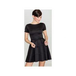 Sukienka K090 Czarny. Sukienki małe czarne marki Lenitif, l. Za 129,00 zł.