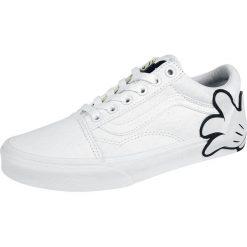 Vans Disney Old Skool Mickey Buty sportowe biały. Białe buty sportowe damskie Vans, z motywem z bajki. Za 199,90 zł.