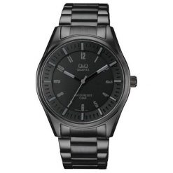 Zegarek Q&Q Męski  QA54-405 Sportowy WR 50M. Czarne zegarki męskie Q&Q. Za 179,88 zł.