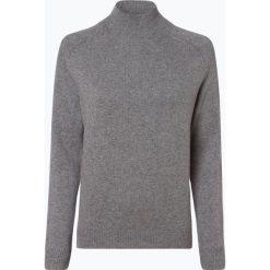 Marie Lund - Damski sweter z wełny merino, szary. Szare swetry klasyczne damskie Marie Lund, l, z dzianiny. Za 249,95 zł.