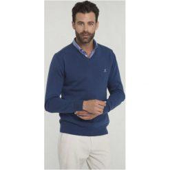Sir Raymond Tailor Sweter Męski Tour Xl Niebieski. Niebieskie swetry klasyczne męskie Sir Raymond Tailor, m, z bawełny. Za 145,00 zł.