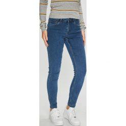 Vero Moda - Jeansy Teresa. Niebieskie jeansy damskie marki Vero Moda, z bawełny. Za 169,90 zł.