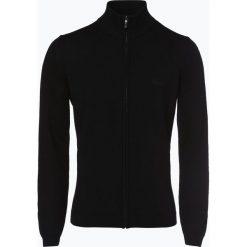 Swetry rozpinane męskie: BOSS Menswear Athleisure - Kardigan męski – Zarlos, czarny