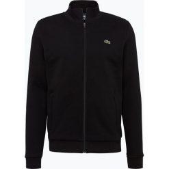 Lacoste - Męska bluza rozpinana Sportswear, czarny. Szare bluzy męskie rozpinane marki Lacoste, z bawełny. Za 449,95 zł.