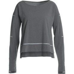 ASICS LITESHOW COVER UP Koszulka sportowa dark grey heather. Szare topy sportowe damskie Asics, xs, z materiału. Za 229,00 zł.