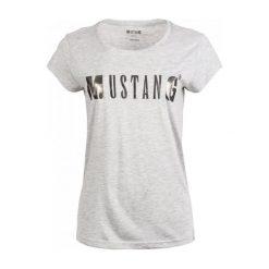 Odzież damska: Mustang T-Shirt Damski S, Szary