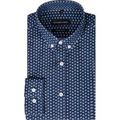 Koszula MICHELE KDWR000282. Szare koszule męskie na spinki marki House, l, z bawełny. Za 229,00 zł.