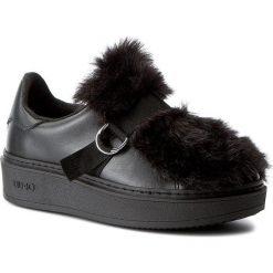 Sneakersy damskie: Sneakersy LIU JO – Sneaker C/Pelliccia S67239 P0296 Nero 22222