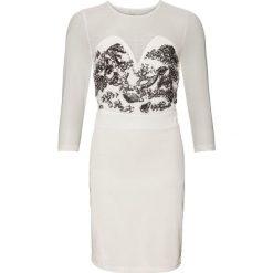 Sukienki: Sukienka bonprix kremowy