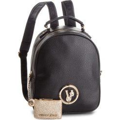 Plecak VERSACE JEANS - E1VSBBV3 70790 899. Czarne plecaki damskie Versace Jeans, z jeansu. Za 729,00 zł.