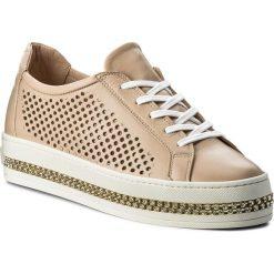 Sneakersy BALDININI - 898734XDOME989898 Dome. Brązowe sneakersy damskie Baldinini, ze skóry. W wyprzedaży za 879,00 zł.
