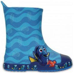 Crocs Kalosze Crocs Bump It Rain Boot Finding Dory Ocean 25-26 (c9). Niebieskie kalosze chłopięce marki Hunter, z materiału. W wyprzedaży za 169,00 zł.