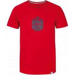T-shirty męskie z nadrukiem: Loap T- Shirt Bessip, Czerwony, L
