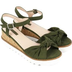 Sandały damskie: Sandały w kolorze khaki