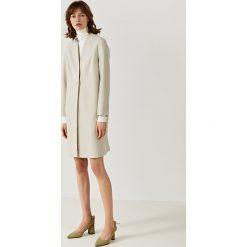 Płaszcze damskie pastelowe: Simple - Płaszcz