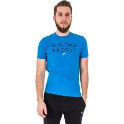 4f Koszulka męska niebieska r. XXL (H4L17-TSM020). Niebieskie koszulki sportowe męskie 4f, l. Za 34,90 zł.